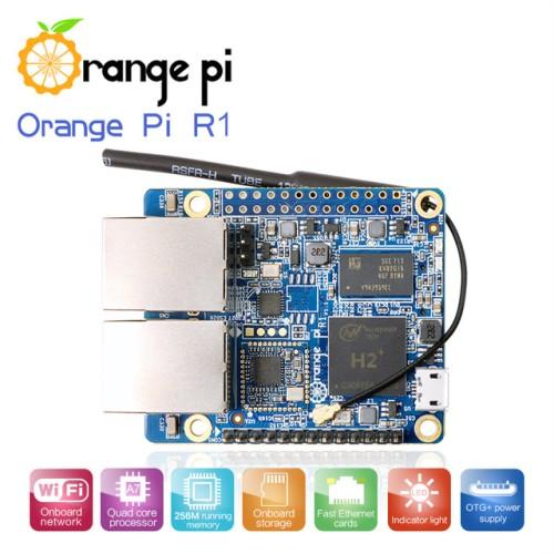 Foto Produk Orange Pi R1 - RAM 256MB 1.2 GHz Quad-core dari Jalaniaga