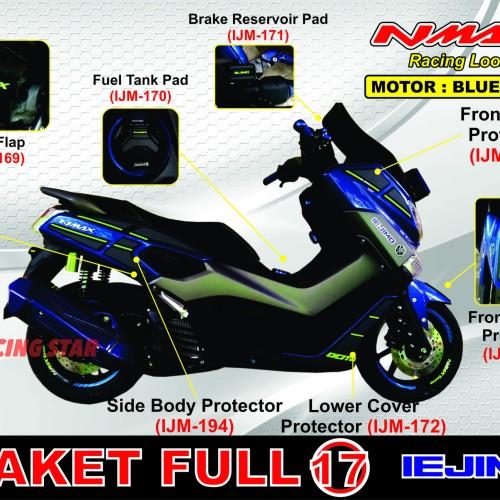 Foto Produk AKSESORIS NMAX / PAKET HEMAT NMAX / BODY PROTECTOR NMAX / PAKET 6 dari Racing Star Automotive