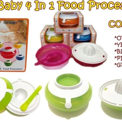 Foto Produk IQ BABY 4 in 1 Food Processor - Premium Quality - BB51 dari bobo baby shop