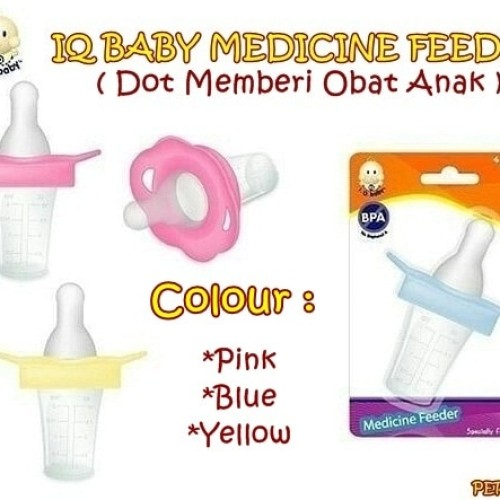 Foto Produk IQ BABY Medicine Feeder DOT OBAT BAYI TEMPAT OBAT BAYI BB-IQ84 dari bobo baby shop