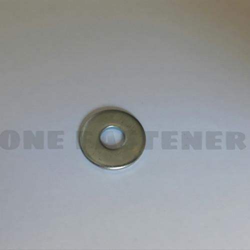 Foto Produk ring plat m6 lebar Tebal 6x18 putih 100pc ya dari ONE_FASTENER