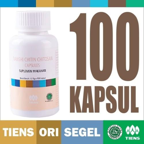 Foto Produk Chitin Chitosan Capsules 100 kapsul TIENS Tianshi Detox Pelangsing dari HANSAL Shop