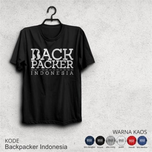 Foto Produk Kaos Pendaki BACKPACKER INDONESIA  dari adventurecloth