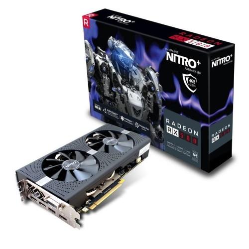 Foto Produk Sapphire NITRO+ RX 580 4GB GDDR5 OC dari Tetra Computer