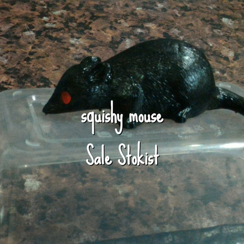 Foto Produk Squishy anti stress splat toy ball jelly mouse rat tikus dari Sale Stockist