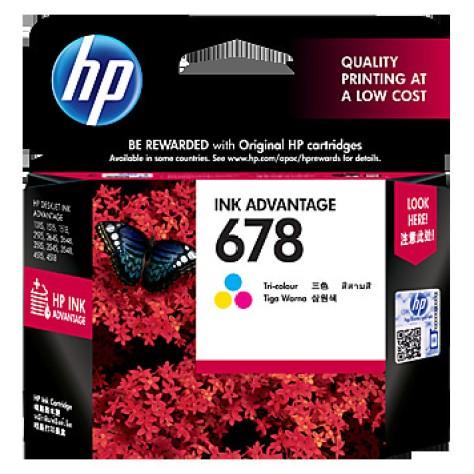 Foto Produk HP 678 Tri-color Ink Cartridge (~150 pages) dari PojokITcom Pusat IT Comp