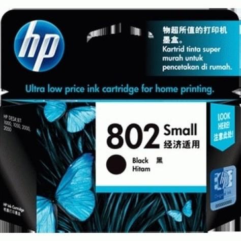 Foto Produk HP 802 Small Black Ink Cartridge (~120 pages) dari PojokITcom Pusat IT Comp