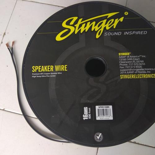 Foto Produk Kabel Speaker Stinger 16 AWG dari TokoAudio