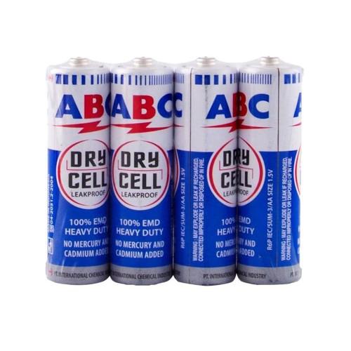 Foto Produk Batu Baterai - Batere ABC AA Battery (isi 4 pcs) dari Toylogy