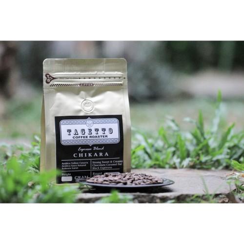 Foto Produk Kopi Espresso Chikara 1KG Biji / Bubuk Tagetto Coffee Blend - BIJI KOPI dari TAGETTO COFFEE