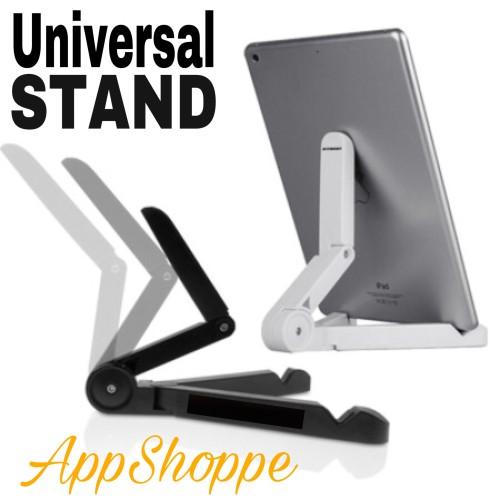 Foto Produk UNIVERSAL PORTABLE FOLDING PHONE TABLET HOLDER STAND CRADLE HOLDER dari AppShoppe