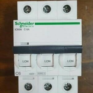 Foto Produk (Sale) mcb IC60N 3phase 6A 6ka schneider dari clarinda shop