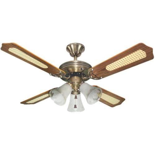 Foto Produk Uchida Kipas Angin Gantung Plafon / Ceiling Fan 3 Lampu CF125 CF-125 dari Henbao Berjaya