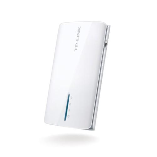 Foto Produk TL-MR3040 TP-LINK Portable Battery Powered 3G/4G Wireless N Router dari Eveline Online Shop