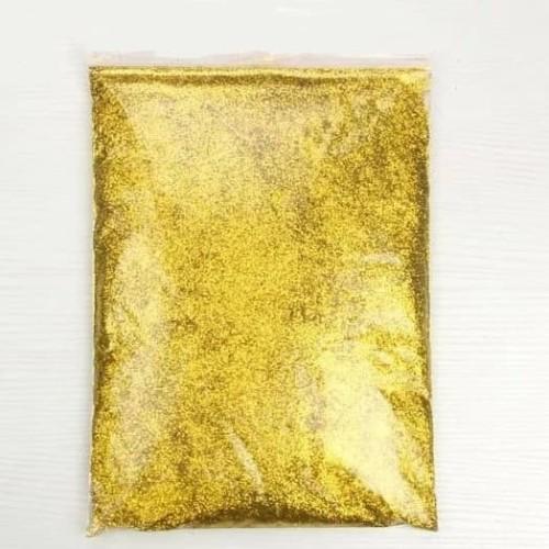 Foto Produk Serbuk emas/ Gold gliter/ gliter powder/ serbuk gliter/ gliter kiloan dari ketiff shop