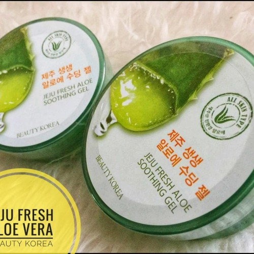 Foto Produk K BEAUTY JEJU FRESH ALOE VERA SHOOTING GEL – NATURE ALOE GEL dari LACI KOSMETIK