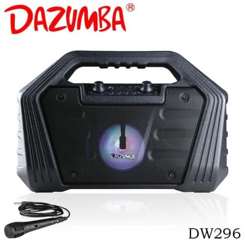 Foto Produk Dazumba DW296 Portable Karaoke Bluetooth Speaker - Hitam [FS] dari Dazumba Official Store