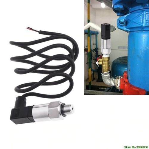 Foto Produk Pressure Transmitter Transducer Sensor 0-10bar 9-32VDC G1/4 4-20mA dari lapakdiskon