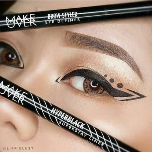 Foto Produk Make Over Hyper Black Superstay EYE Liner Makeover Super Stay EyeLiner dari emina cosmetics