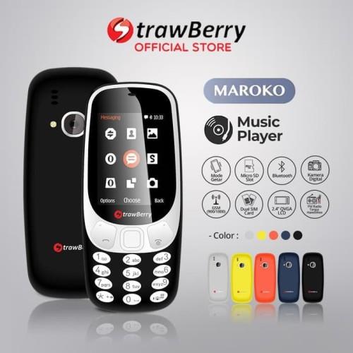 Foto Produk [FS] Strawberry Maroko 3310 | Handphone Candybar HP Murah Kamera dari handphone shopp