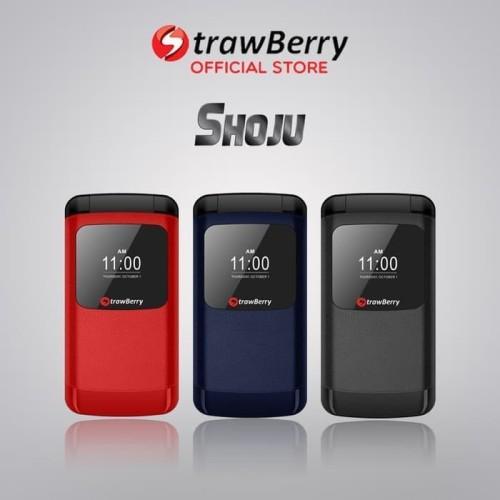 Foto Produk Strawberry Shoju | Handphone Flip HP Murah Kamera Digital Bluetooth dari prayoga cell