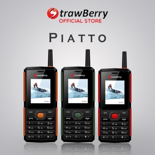 Foto Produk [FS] Strawberry – Piatto | Handphone Candybar HP Murah Kamera dari prayoga cell
