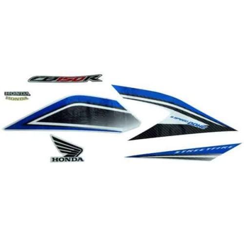 Foto Produk Sticker Body Kanan Putih Biru New CB150R StreetFire (871X0K15920ZCR) dari Honda Cengkareng