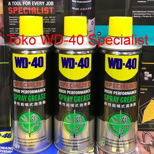 Foto Produk WD40 Grease (Clear) / WD 40 Grease (Clear Grease) dari WD-40 Specialist
