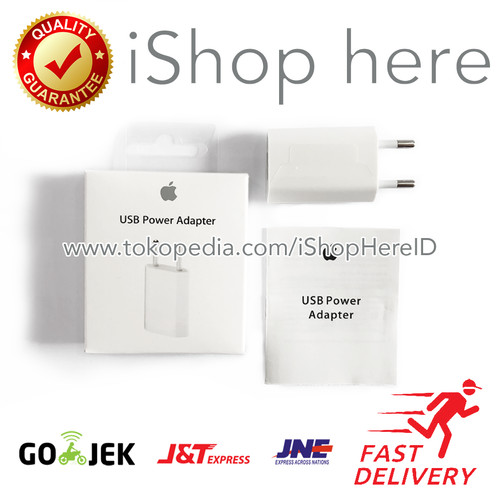 Foto Produk Charger Adaptor Adapter Batok iPhone iPad Original Apple dari iShop Here