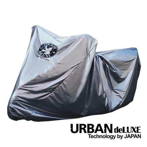 Foto Produk [ DELUXE JUMBO MOTOR ] Cover sarung motor Urban DELUXE JUMBO SILVER dari herman-shop