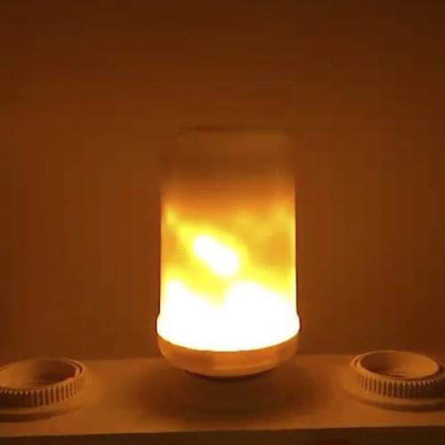 Foto Produk Bohlam LED Flame Effect Api Lilin Realistic Flickering E27 7W dari Apan Store