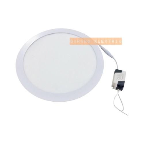 Foto Produk Led Downlight Panel 24W Inbow - Bulat White dari GrosirAksesorisFashion