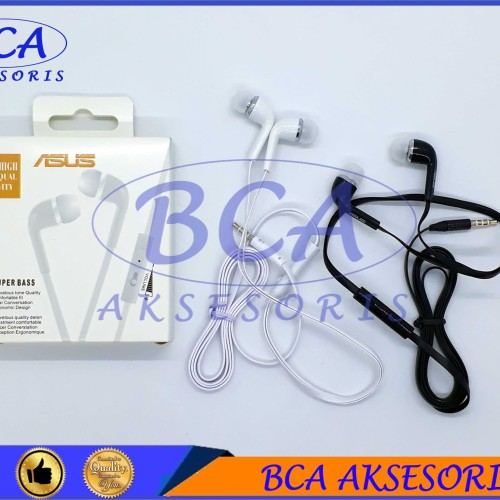 Foto Produk HANDSFREE ASUS MEGA BASS+ MIC HEADSET/ EARPHONE/ HEADPHONE dari BCA AKSESORIS