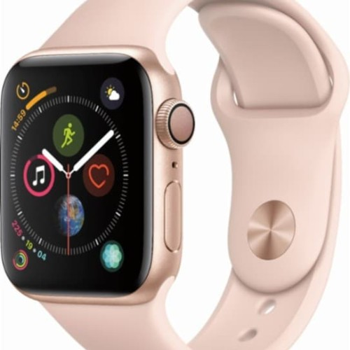 Foto Produk APPLE Watch Series 4 GPS Pink Sand Sport Band / Loop Aluminium Case dari Global Persada System