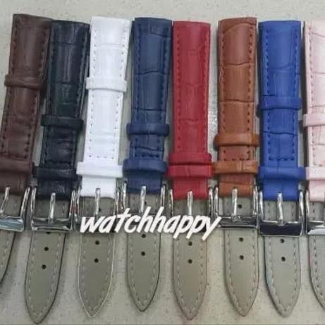 Foto Produk Strap Tali Kulit Jam Tangan Leather Asli Croco Water Resist Seiko AC dari Watchhappy