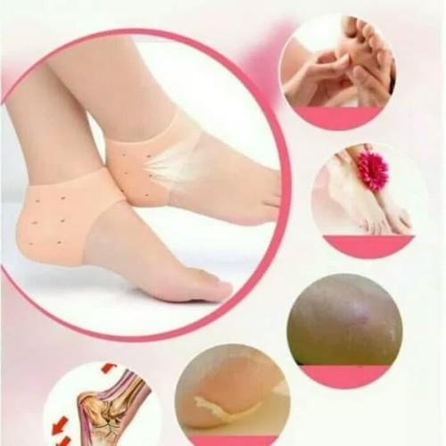 Foto Produk Silicone tumit kaki silicone Soft Gel Heel Protector dari Quishop
