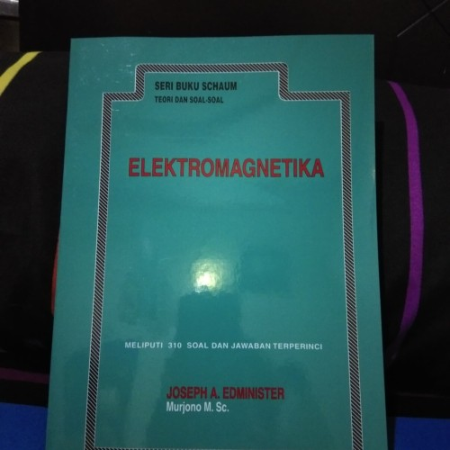Foto Produk Elektromagnetika Seri Buku Schaum teori Dan soal soal dari khansa book