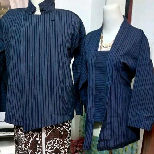 Foto Produk baju adat surjan dan kebaya lurik alusan ukuran L dari Diyas Onlineshop