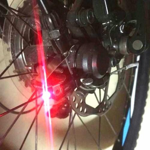 Foto Produk Lampu Belakang Sepeda / Lampu Rem Sepeda / Lampu Sinyal Sepeda dari Uppala Shop
