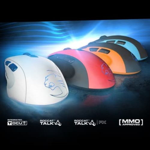 Foto Produk Roccat Kone Pure - Blue / Orange / Red / White dari Jijia Computer