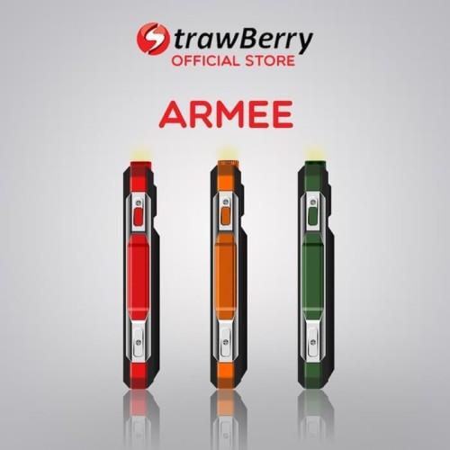 Foto Produk Strawberry – Armee | Handphone Candybar HP Murah Kamera Speaker dari voucher cellular