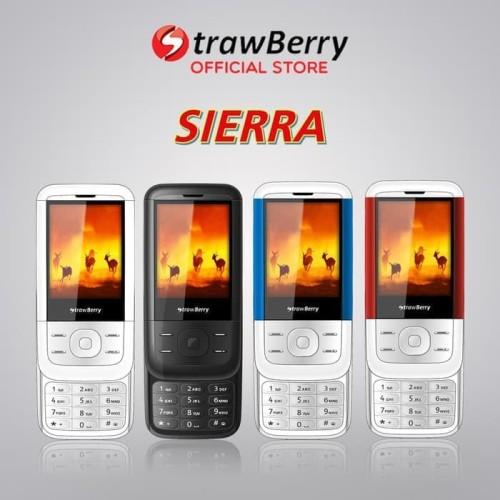 Foto Produk Strawberry – Sierra | Handphone Slide HP Murah Kamera Bluetooth dari voucher cellular