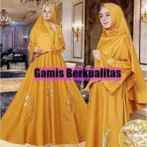 Foto Produk Baju Gamis Muslim Syari Wanita - JULIA SYARI - Dress Gaun Pesta dari Raja Obral 107
