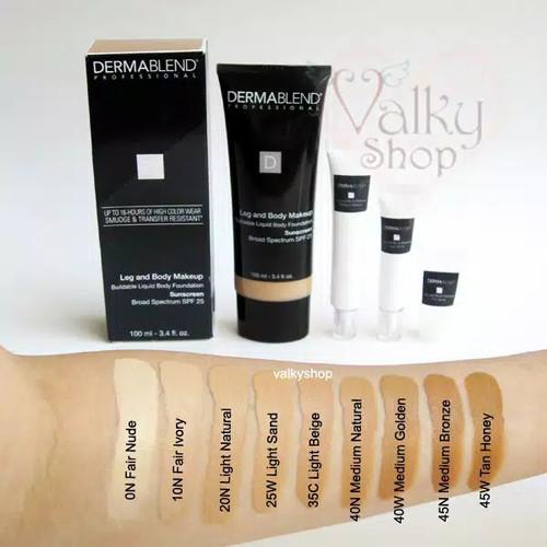 Foto Produk SHARE 5ml in Tube - DERMABLEND Leg and Body Makeup - 100% ORIGINAL - Fair Nude dari Valky Shop