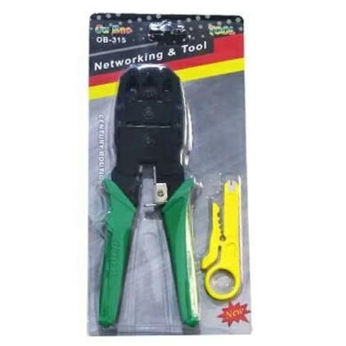 Foto Produk Crimping Tool Triple (RJ-45 + RJ-11 + Cutter) dari Palugada Distribusi