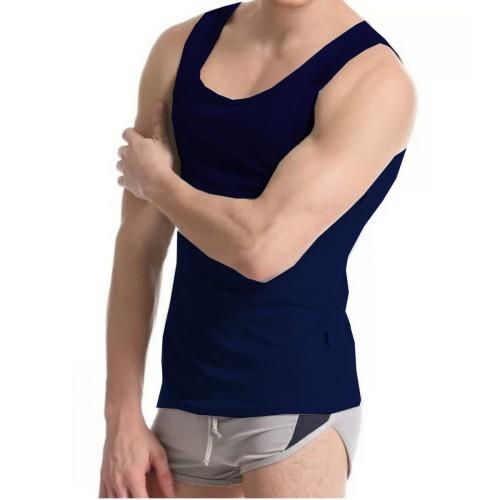 Foto Produk Promo Kaos Singlet Katun Pria Murah - Dalaman Fitness - Basic dari VM VanMarvell