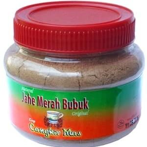 Foto Produk Jahe Merah Bubuk Murni Cap Cangkir Mas Toples - 100% Alami Tanpa Gula dari duadus