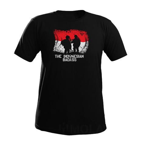 Foto Produk T shirt MOLAY I BADASS - Hitam, M dari Molay
