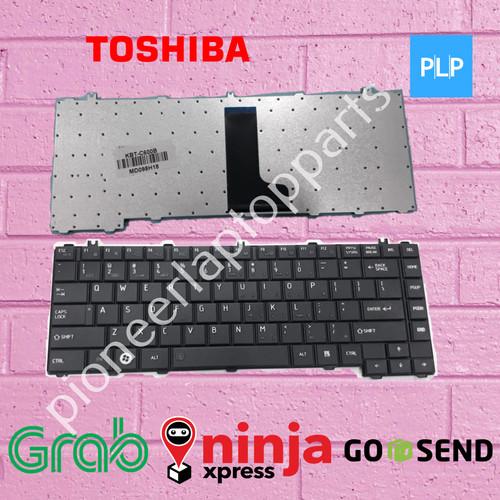 Foto Produk Keyboard laptop Toshiba L645 C600 C640 L600 L630 L635 L640 hitam dari PioneerLaptopParts