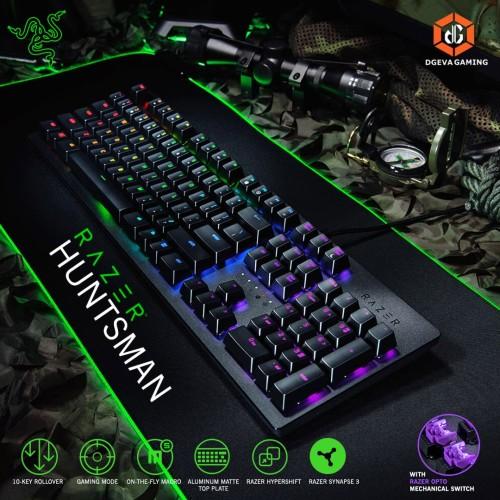 Foto Produk Razer Huntsman Opto Mechanical Chroma Gaming Keyboard dari DGeva Gaming
